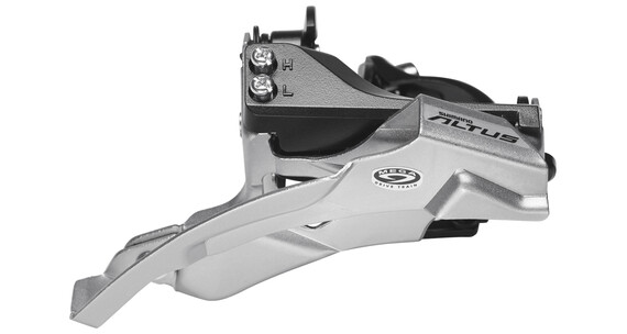 Shimano Altus FD-M370 Umwerfer 3x9-fach Schelle Dual-Pull schwarz